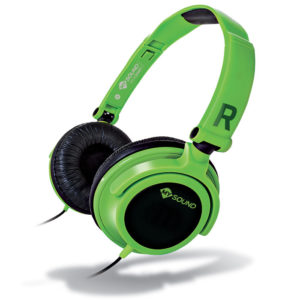 MELICONI MYSOUND SPEAK SMART FLUO GREEN-BLACK ON-EAR STEREO HEADSET (WITH MICROP | SMARTPHONES / TABLETS / GPS | elabstore.gr