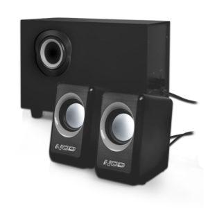 NOD Cyclops SPK-020 Speaker 2.1 2x3W & 5W,black | ΠΕΡΙΦΕΡΕΙΑΚΑ Η/Υ & LAPTOP | elabstore.gr