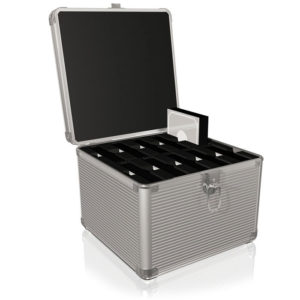"""ICY BOX IB-AC628 TRANSPORT SUITCASE FOR 10x3,5"""" HDDs /70628   ΠΕΡΙΦΕΡΕΙΑΚΑ Η/Υ & LAPTOP   elabstore.gr"""