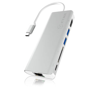 ICY BOX IB-DK4034-CPD USB Type-C notebook Docking Station | ΠΕΡΙΦΕΡΕΙΑΚΑ Η/Υ & LAPTOP | elabstore.gr