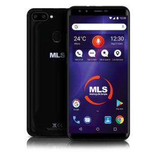 MLS LIBERAL 4G BLACK DUAL SIM | SMARTPHONES / TABLETS / GPS | elabstore.gr