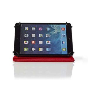 "NEDIS TCVR7100RD Tablet Folio Case 7""Universal Red   SMARTPHONES / TABLETS / GPS   elabstore.gr"