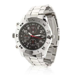 NEDIS SPYCWW10CM Spy Camera Wrist Watch 720x480 Video 1280 x 1024 Photo 8Gb Memo   SECURITY   elabstore.gr