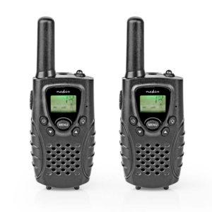 NEDIS WLTK0800BK Walkie-Talkie Range 8 km 8 Channels VOX 2 Pieces Black | SECURITY | elabstore.gr