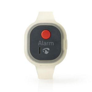 NEDIS ALRMPW20AT Personal Safety Alarm Waterproof Wrist Band Design = 85dB Alarm | SECURITY | elabstore.gr
