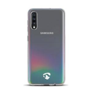 NEDIS SJC10028TP Jelly Case for Samsung Galaxy A70 Transparent | SMARTPHONES / TABLETS / GPS | elabstore.gr