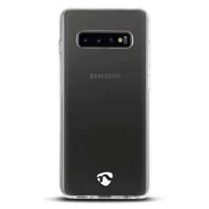 NEDIS SJC10017TP Jelly Case for Samsung Galaxy S10 Transparent | SMARTPHONES / TABLETS / GPS | elabstore.gr