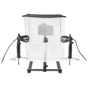 NEDIS SKT010WT LED Photo Studio Kit 40 x 40 cm 6500 K Foldable | ΕΙΚΟΝΑ / ΗΧΟΣ | elabstore.gr