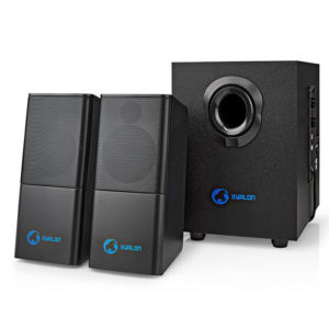NEDIS GSPR10021BK Gaming Speakers 2.1 USB powered 3.5mm jack 33 W | ΠΕΡΙΦΕΡΕΙΑΚΑ Η/Υ & LAPTOP | elabstore.gr