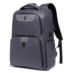 ARCTIC HUNTER τσάντα πλάτης B00266-DG με θήκη laptop, USB, γκρι | Οικιακές & Προσωπικές Συσκευές | elabstore.gr