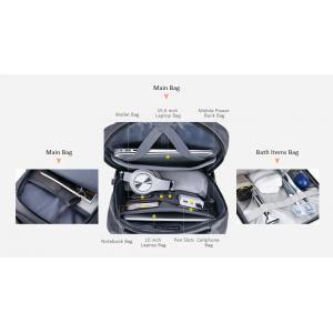 ARCTIC HUNTER τσάντα πλάτης B00266-BK με θήκη laptop, USB, γκρι | Οικιακές & Προσωπικές Συσκευές | elabstore.gr