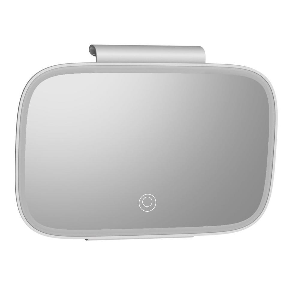 BASEUS καθρέφτης καλλωπισμού αυτοκινήτου CRBZJ01-04, LED 500mAh, λευκό | Gadgets | elabstore.gr