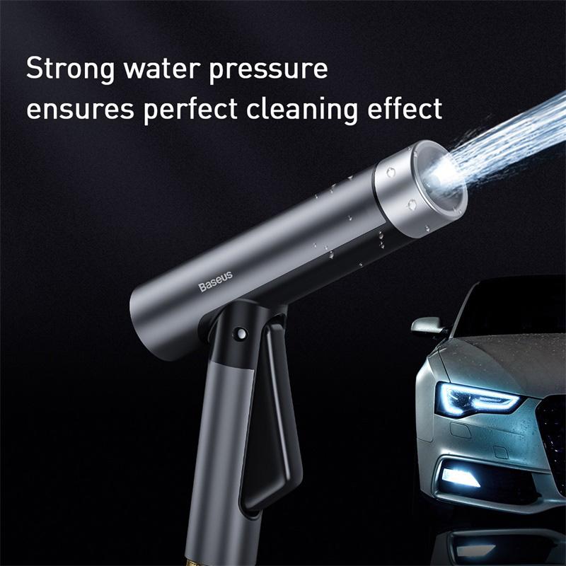 BASEUS πιεστικό νερού με λάστιχο CRXC01-A01, 7.5m, γκρι-μαύρο   Gadgets   elabstore.gr