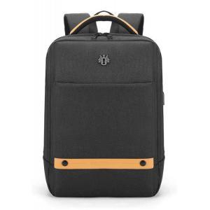 ARCTIC HUNTER τσάντα πλάτης GB00378-BK με θήκη laptop, αδιάβροχη, μαύρη | Οικιακές & Προσωπικές Συσκευές | elabstore.gr