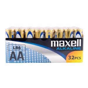 MAXELL Αλκαλικές μπαταρίες AA LR6 LR6-32PACK, 32τμχ | Μπαταρίες | elabstore.gr