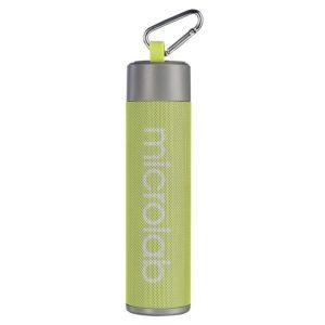 MICROLAB Φορητό ηχείο MD118, power bank, φακός, selfie stick, πράσινο | Εικόνα & Ήχος | elabstore.gr