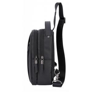 ARCTIC HUNTER Τσάντα Crossbody XB130027-BK, αδιάβροχη, μαύρη | Οικιακές & Προσωπικές Συσκευές | elabstore.gr