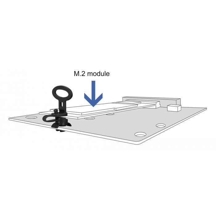 DELOCK Αποστάτης PCB 60190, 3.6mm, μαύρος, 10τμχ | Εργαλεία | elabstore.gr