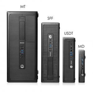 HP PC 800 G1 USDT, i5-4460S, 4GB, 500GB HDD, DVD, REF SQR | Refurbished PC & Parts | elabstore.gr