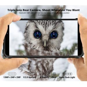 "OUKITEL Smartphone WP5, 5.5"", 4/32GB, Quadcore, IP68, 8000mAh, πορτοκαλί | Mobile Συσκευές | elabstore.gr"