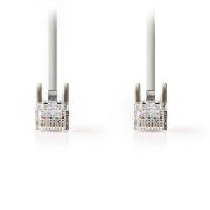 NEDIS CCGT85000GY10 Cat 5e UTP Network Cable RJ45 (8P8C) Male - RJ45 (8P8C) Male   ΚΑΛΩΔΙΑ / ADAPTORS   elabstore.gr