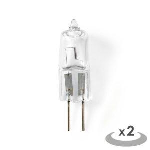 NEDIS HALG4CAP2 Halogen Lamp G4 Capsule 14 W 235 lm 2800 K | ΦΩΤΙΣΜΟΣ / ΗΛΕΚΤΡΟΛΟΓΙΚΑ | elabstore.gr