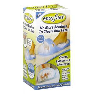 EASY FEET Παντόφλα μασάζ, καθαρισμού & απολέπισης ποδιών CLN-0005, μπλε | Οικιακές & Προσωπικές Συσκευές | elabstore.gr