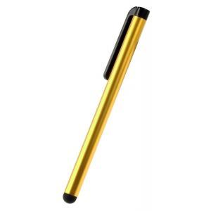 POWERTECH Μεταλλικό στυλό για οθόνη αφής TP-001Y-10, κίτρινο, 10τμχ | Gadgets | elabstore.gr