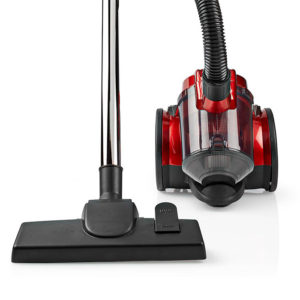 NEDIS VCBS100RD Vacuum Cleaner Bagless 700 W 1.5 L Dust Capacity Red | ΜΙΚΡΟΣΥΣΚΕΥΕΣ / ΕΠΟΧΙΑΚΑ / ΛΕΥΚΕΣ ΣΥΣΚΕΥΕΣ | elabstore.gr