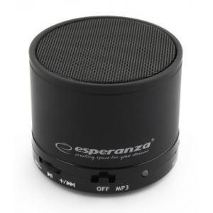 ESPERANZA Φορητό ηχείο Ritmo EP115K, bluetooth/SD Card/FM, 3W, μαύρο | Εικόνα & Ήχος | elabstore.gr