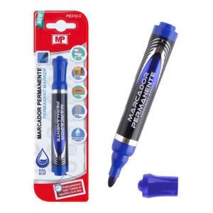 MP ανεξίτηλος μαρκαδόρος PE510-05, 2mm, μπλε | Αναλώσιμα - Είδη Γραφείου | elabstore.gr