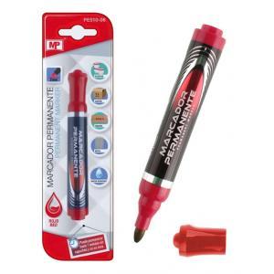 MP ανεξίτηλος μαρκαδόρος PE510-06, 2mm, κόκκινος | Αναλώσιμα - Είδη Γραφείου | elabstore.gr