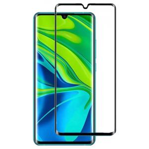 POWERTECH Tempered Glass 3D, Full Glue, Xiaomi Mi Note 10/10 Pro, μαύρο | Αξεσουάρ κινητών | elabstore.gr