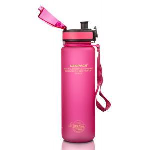 UZSPACE παγούρι νερού Colorful Frosted UZ-3026-PK, 500ml, ροζ | Οικιακές & Προσωπικές Συσκευές | elabstore.gr