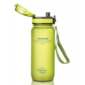 UZSPACE παγούρι νερού Colorful Frosted UZ-3053-GN, 800ml, πράσινο | Οικιακές & Προσωπικές Συσκευές | elabstore.gr