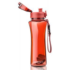 UZSPACE παγούρι νερού Twisted Fitness UZ-6006-RD, 500ml, κόκκινο | Οικιακές & Προσωπικές Συσκευές | elabstore.gr
