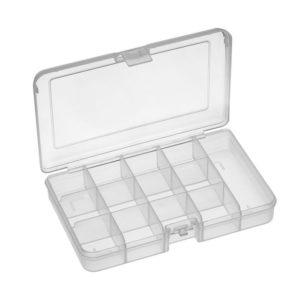 RND 550-00101 - Assortment Box, 163x112x31mm, Clear | ΗΛΕΚΤΡΟΝΙΚΑ / ΕΡΓΑΛΕΙΑ | elabstore.gr