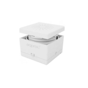 Ηχείο Feel Cube 3W Approx White APPSP11W | ELABSTORE.GR