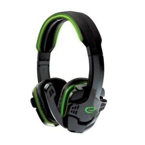 Raven Ακουστικό με μικρόφωνο gaming Πράσινο EGH310G | ELABSTORE.GR