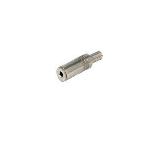 DELOCK jack 3.5mm/Bend Protection/Female/Metal/Silver 65535 | ELABSTORE.GR