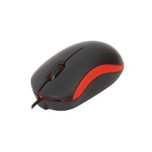 Omega Ενσύρματο Ποντίκι USB κόκκινο  OM-07VR   ELABSTORE.GR