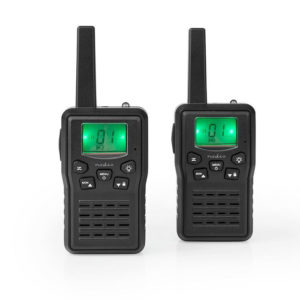 NEDIS WLTK1010BK Walkie-Talkie Range 10 km 8 Channels VOX Charging Base 2 Pieces   SECURITY   elabstore.gr
