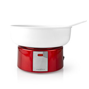 NEDIS FCCM100FRD Candy Floss Machine 500 W Vintage Red / White   ΜΙΚΡΟΣΥΣΚΕΥΕΣ / ΕΠΟΧΙΑΚΑ / ΛΕΥΚΕΣ ΣΥΣΚΕΥΕΣ   elabstore.gr