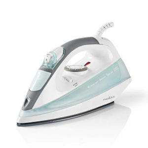 NEDIS IRON122WT Steam Iron 2200 W Steam Shot Ceramic Sole White | ΜΙΚΡΟΣΥΣΚΕΥΕΣ / ΕΠΟΧΙΑΚΑ / ΛΕΥΚΕΣ ΣΥΣΚΕΥΕΣ | elabstore.gr