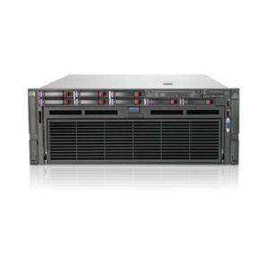 Refurbished Server HP DL580 G7 R4U 4xE7520/32GB DDR3/3x146GB/4xPSU/DVD | ELABSTORE.GR