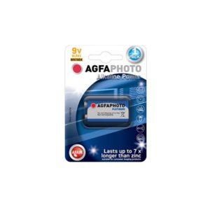 AGFA 9V 6LR61 1τεμ Αλκαλική Μπαταρία | ELABSTORE.GR