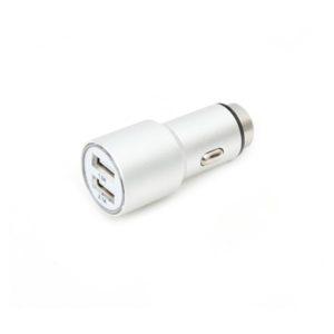 Universal 2 USB Port 5V/2.1A Car Charger Omega | ELABSTORE.GR
