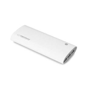 Φορητός Φορτιστής 13800mA άσπρο/γκρι  Power Bank | ELABSTORE.GR