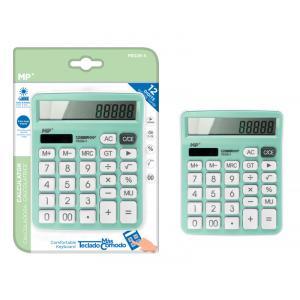 MP αριθμομηχανή PE028, ηλιακό & μπαταρίες, 12 ψηφία, πράσινη   Αναλώσιμα - Είδη Γραφείου   elabstore.gr