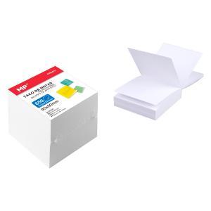 MP Αυτόλλητα χαρτάκια σημειώσεων PN802, 90 x 90mm, 850τμχ, λευκά | Αναλώσιμα - Είδη Γραφείου | elabstore.gr
